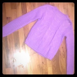 NoBo Lavender Sweater! Size small.